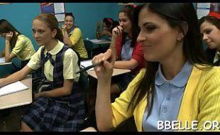 Vídeo de Putaria na Sala de Aula Professor e alunas
